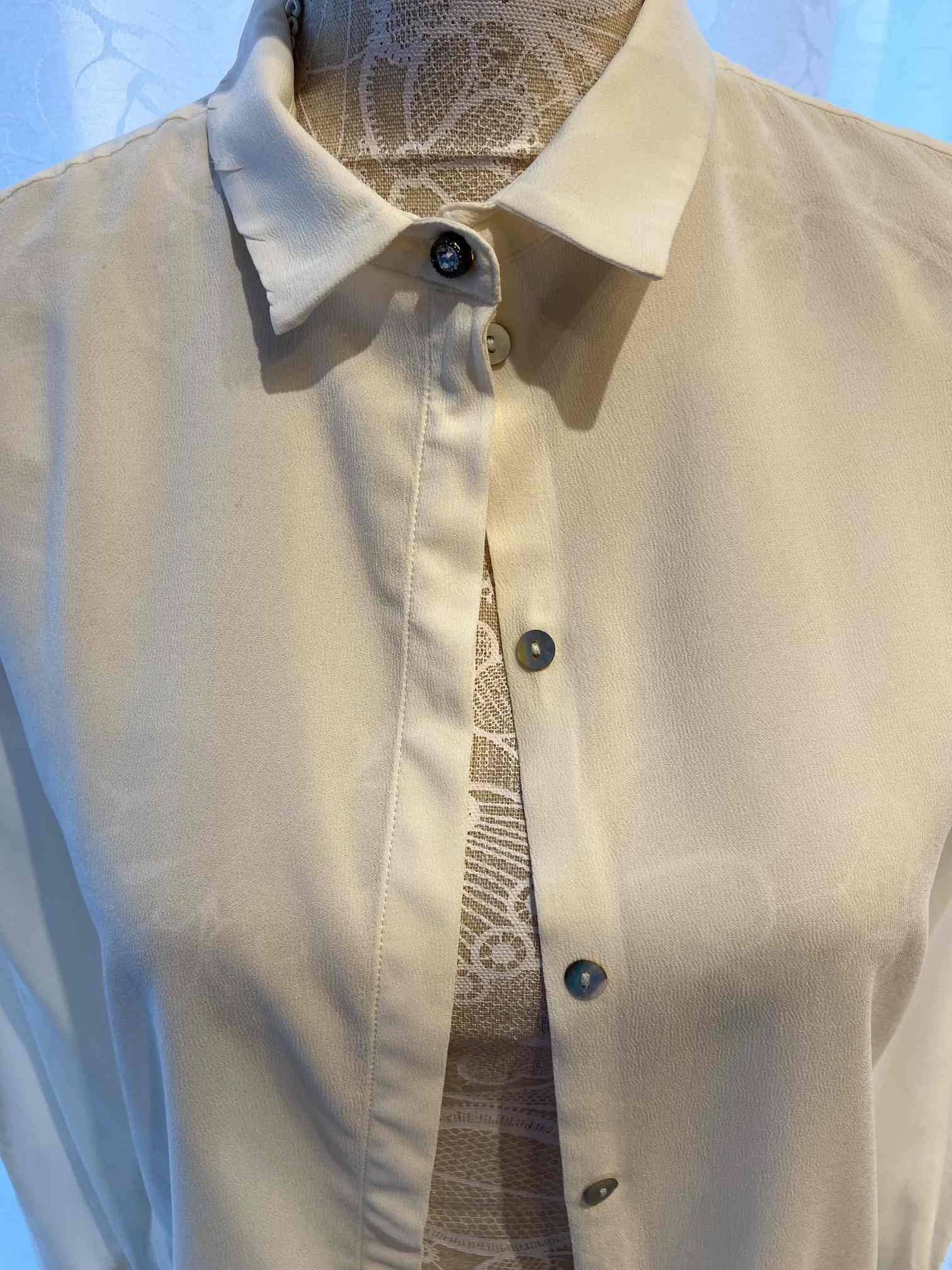 Bluse Rich & Royal 38 in Creme