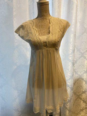 Kleid Zero 34 in Creme