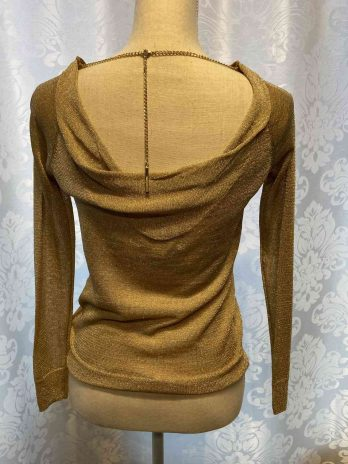 Pullover Micheal Kors 34| 36 in Gold| Lurex