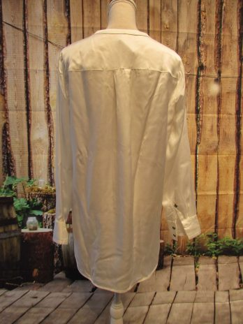Bluse 40 in Creme
