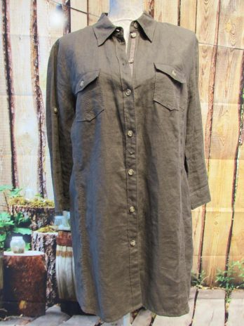 Bluse G.W. 42 in Mocca