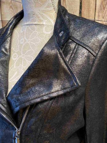"""Jacke New Age """"Large"""" in Silber"""