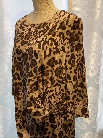 Kleid Atelier 48 in Braun  Rosa