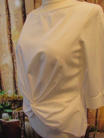 """Bluse Zara """"Large"""" in Weiß"""