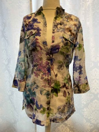 Bluse 36 in Floral