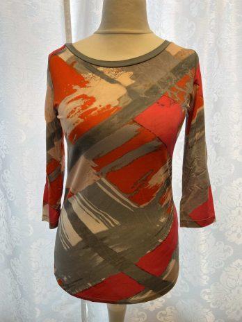 Shirt 36 in Coralle| Grau