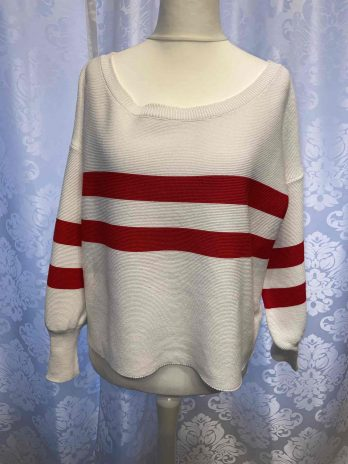 """Strickpullover Aust """"Small"""" in Weiß