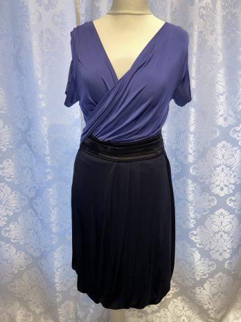 Kleid Strenesse 36 in Schwarz| Blau