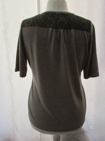 Shirt Rabe 42 in Oliv| Gemustert