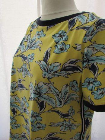 Shirt Yest 44 in Blau| Gelb