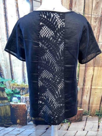 Shirt 38 in Schwarz