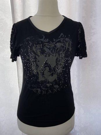 Shirt Luisa Cerano 36 in Schwarz