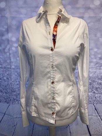 Bluse Basset 44 in Weiß