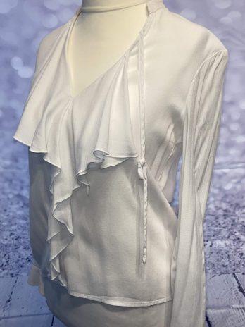 Bluse Jones 34 in Weiß