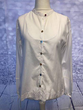Bluse Napapijri 36 in Weiß
