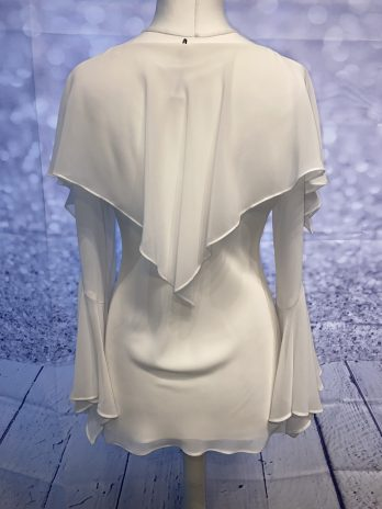 Bluse 36| 38 in Creme