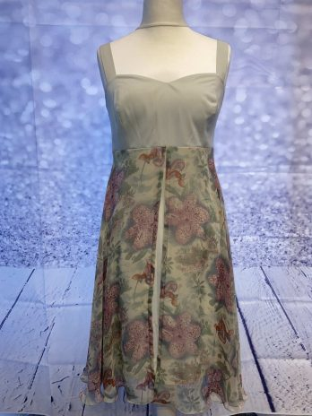 """Kleid Miracle """"Small"""" in Grün  Floral"""
