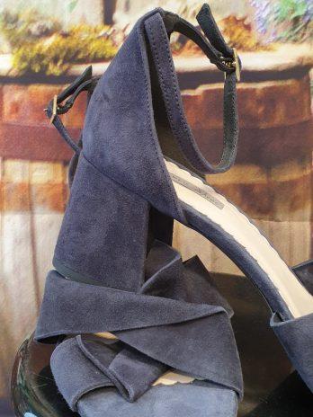 Lederschuhe Tosca Blu in Blau NEU
