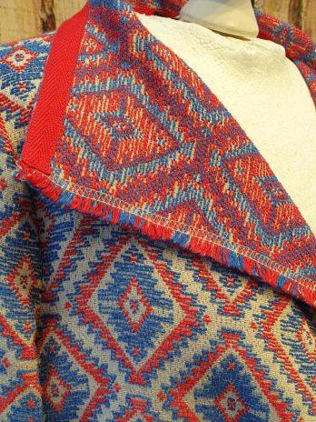 Blazer Jones 38 in Blau | Rot