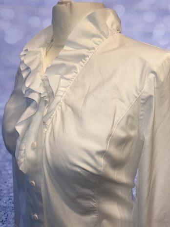 Bluse B.M. Company 44 in Weiß