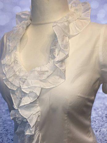 Bluse Wallmann 40 in Weiß