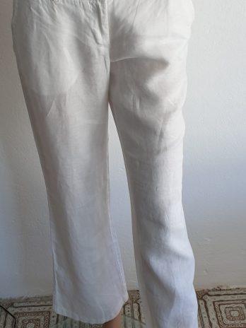 Hose Marco Polo Leinen Größe 36 in Weiß