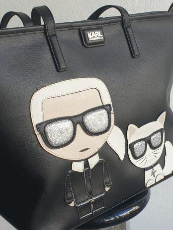 """Tasche """"Karl Lagerfeld"""" in Schwarz NEU"""