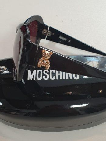 Sonnenbrille Moschino in Schwarz