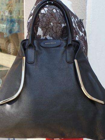 Leder Tasche Coccinelle in Schwarz