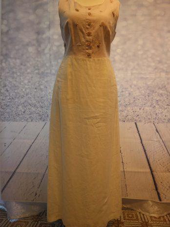 Kleid Isabelle G. 38/40 in Weiss/Rosa