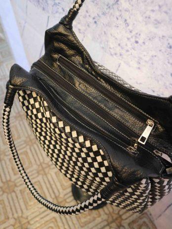 Tasche in Schwarz|Weiss