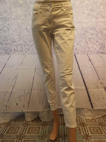 Jeans Hose Tom Tailor 40 in Weiss