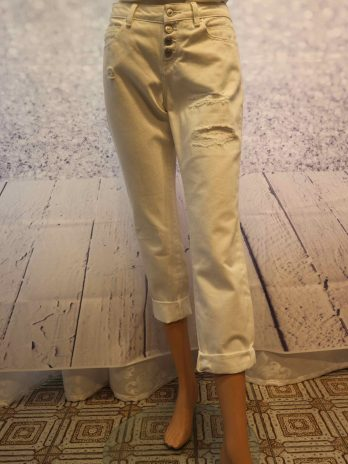 Jeans Hose EDC 29 in Weiss