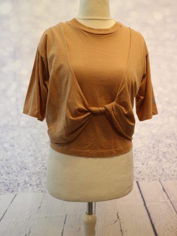 "Shirt Replay ""Meduim"" in Beige"
