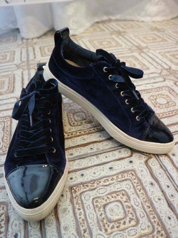 Sneakers Massimo Dutti 40 in Dunkeblau