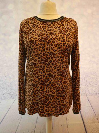 Shirt Kaffe 44 in Animalprint