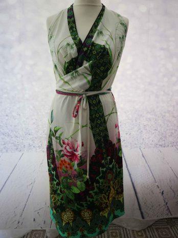 Wickelkleid Unikat 36-40 in Floral