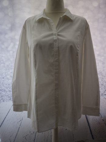 Bluse Samoon 44 in Weiss