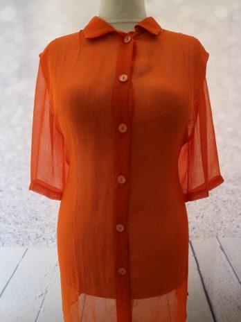 Bluse 46 in Orange