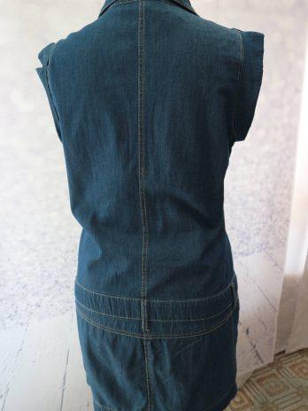 """Jeans Kleid Benetton """"Small"""" in Blau"""