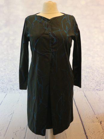 Kleid COS 42 in Blau |Grün