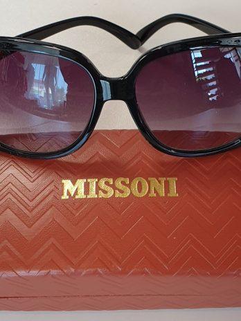 Sonnenbrille Missoni in Schwarz