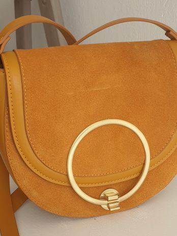 Gelbe Tasche Zara
