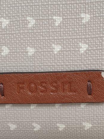 Ledertasche Fossil in Beige