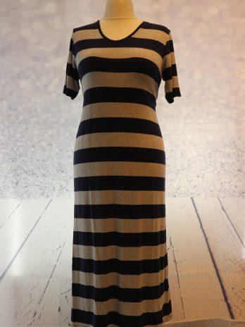 "Kleid Mango ""Large"" in Blau|Grau"