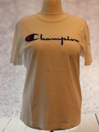 """Shirt Champion Produkts """"Large"""" in Weiß"""