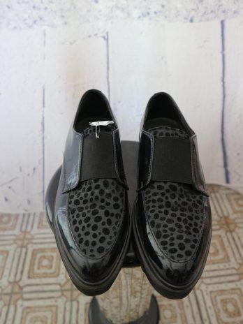 Schuhe Maripe 38 in Schwarz|Grau