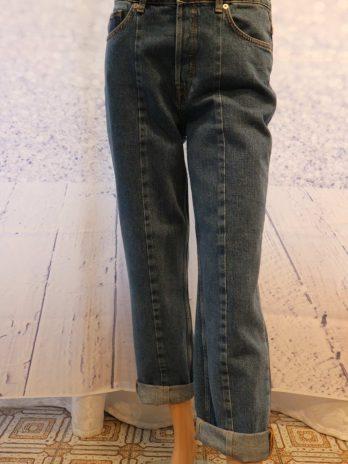 Jeans Hose Select Femme 36|38 in Blau