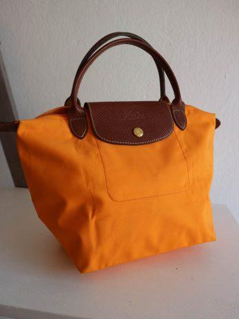 Tasche Longchamp in Orange