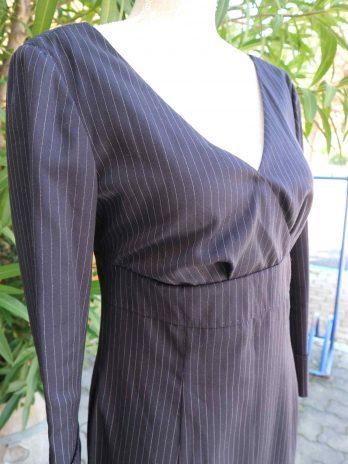 Kleid Tommy Hilfiger 38 in Blau Nadelstreifen